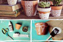 Customisation pots de fleur