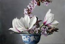 Цветочные чашки