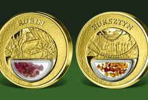 MEDALE OKOLICZNOŚCIOWE / Kolekcjonerskie medale z platyny, rutenu, mosiądzu, brązu i in. metali menniczych