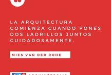 #arquifrases / Tablero con frases sobre Arquitectura. #arquitectura #diseño #blog