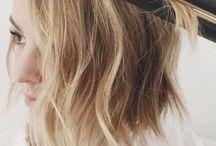 flat iron wave hair