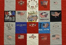 """Express TShirt Quilts / We collect customers' t-shirt into a quilt! We made so many kinds of theme quilts: hobbies, sports, college, high school, memory, and many more! Our motto: """"You make the memories, we make the quilts!"""" Check us out at www.ExpressTshirtQuilts.com"""