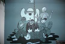 illustration / illustration inspiration / by nina koegelenberg