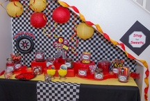 Cars buffet table
