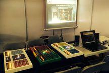 MORBAK jeu multijoueur gratuit- Fête de la science 2015 / Découvrir Morbak, un jeu de réflexion multijoueur gratuit en ligne ou version électronique, à la fête de la science, avec un prototype construit par des collégiens dans le cadre d'un projet pédagogique.
