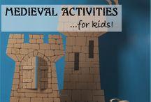 medieval in kindergarden