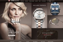 TAG Heuer / Tag Heuer has led Swiss avant-guarde watchmaking since 1860 and asked Pod1 to help take them into e-commerce expansion.  The result is a site that's appealing equally to men and women, enabling customers to drill down into detailed content, and merchandising in ways over and above the usual categories.