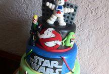 Birthday cakes for Ali