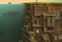 Gediminas Pranckevicius / The amazing art and work of  Gediminas Pranckevicius. Please visit and follow at http://www.gedomenas.com/