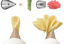 Decoración de pasteles / Cualquier material