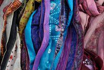 ik zoek manieren om sjaals te dragen / Hoe kun je een sjaal dragen?