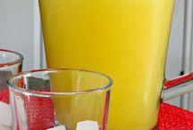 jugo de piña y limón