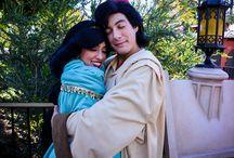 My Magic Story, Aladdin and Princess Jasmine at Disneyland