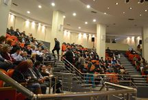 """ΔΙΠΛΗ ΓΙΟΡΤΗ ΣΤΟ ΓΚΑΖΙ / Ο ΣΕΚΑ και η ENERGY LINE γιόρτασαν τα 20 χρόνια από την έναρξη του Πανελληνίου Συνεδρίου """"Αλουμίνιο & Κατασκευές"""" με μια μοναδική προσυνεδριακή εκδήλωση που πραγματοποίησαν την Τετάρτη 12 Νοεμβρίου στους υπέροχους χώρους που διαθέτει η Τεχνόπολις στο Γκάζι."""