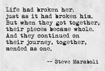 Apart and/or Together Quotes