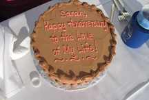 Cakes aboard Sail Selina II,                                 St. Michaels MD / whether its a wedding, birthday, or anniversary celebration, butter cream rocks!