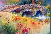pont+fleurs