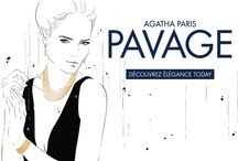 PAVAGE / Beautiful, classic, elegant and feminine jewellery from the latest collection at AGATHA Paris - PAVAGE