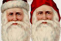 joulupukin päät