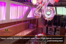 Celebrations at Lavish Yachting / Throwing a birthday party on a yacht is a relaxing, luxurious experience and definitely reveals your class and style.  http://bit.ly/1LNHgIC