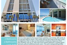 Palazzo Resort - Panama City Beach, FL / The #Palazzo Resort in Panama City Beach is one of the most upscale and livable resorts directly on the beach.  These pics are resort photos and #condosforsale