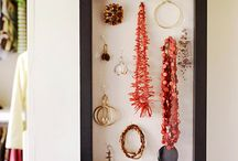 organized jewelry / by Charlotte Steill