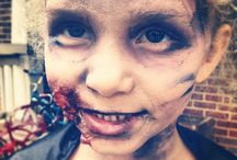 Halloween - Zombie - Makeup - kids- how-to - DIY- Walking Dead - Scary