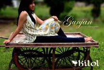 Gunjan collection at Kilol / Embracing the youth with mixed emotions of excitement and hesitation, ambitions and fear and a plethora of feelings that are new to the heart, 'Gunjan collection is an ideal companion for dreamy-eyed teens and youth.  #Kilol #Gunjan #HandBlockPrint #Floral