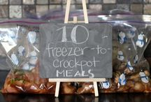 Tried it, love it...freezer meals. / by Caitlin Rice