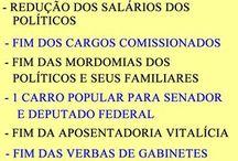 Brasil (Impostos) / Campanhas, charges, frases e quadros sobre os impostos no Brasil.