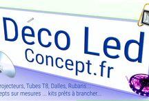 déco led concept / éclairage led pour particuliers et professionnels
