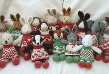 Little Knitted friends