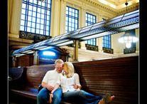 Фотосессия на вокзале