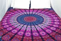 Indian Mandala / It can be used as beadspread ,Yoga Mat ,Hippie Tapestry ,Indian Alibaba