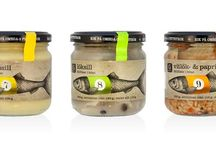 Fish products and package designs