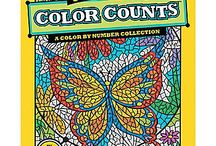 Coloring Craze / Coloring is not just for kids these days! Just 10-15 minutes spent coloring has the ability to give you a sense of satisfaction which can send a positive ripple effect throughout the rest of your day.