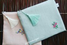 işlemeli el çantaları