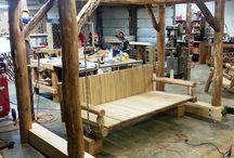 Venkovní nábytek ze dřeva