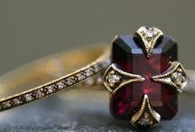 "G A R N E T / Heritage & Color (Shades of RED) Garnet is believed to get its name from Latin for ""seed"" (granate) due to red garnet's similarity to a pomegranate seed. / by Linda Royal"