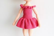 Crocheted Dolls / A collection of adorable and inspiring crocheted amigurumi dress up dolls