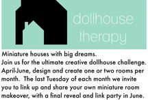 Dollhouse Therapy Challenge: Mid-Century TV Reno / As part of the #DollhouseTherapy challenge I'm attempting to renovate the empty shell of a mid-century TV into an adorable , miniature abode. Let's see how it goes!