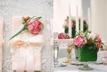 blush pink wedding inspiration / pink wedding ideas, inspiration, pink blush flowers, pink flowers, pink peonies, pink roses, wedding flowers  / by plenty to declare photography