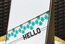 """Cards """"Kiss techniek"""" / by Aletta Heij"""