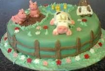 Farmyard cake / by Fancy Fondant Cakes by Emily Lindley