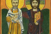 Chrystus i Święty Menas
