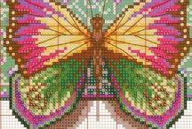 Hama - pillangók