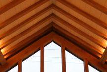 Carpenter Oak Barn Lighting by Gordon Petrie