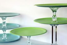 Crafts - Cake / Cupcake Plates / Stands / by Geri Johnson