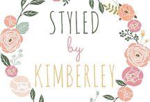 Styled by Kimberley / Ben jij opzoek maar persoonlijke en stijlvolle decoratie voor je bruiloft? Neem dan een kijkje op mijn Facebook pagina of website styledbykimberley.nl