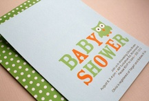 Baby Showers / Baby Shower Inspiration for loving on that mom-to-be! / by Page Stationery